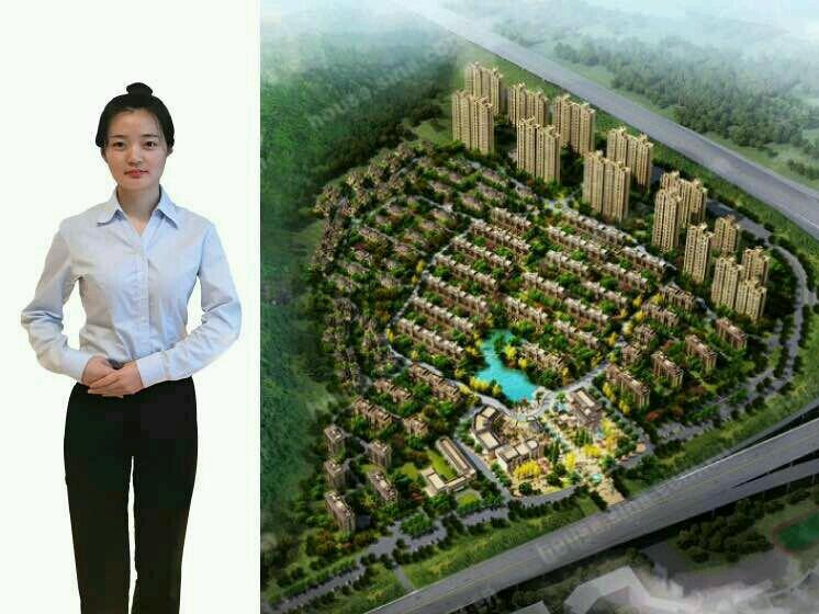 感受银亿东城新亚洲风格庭院