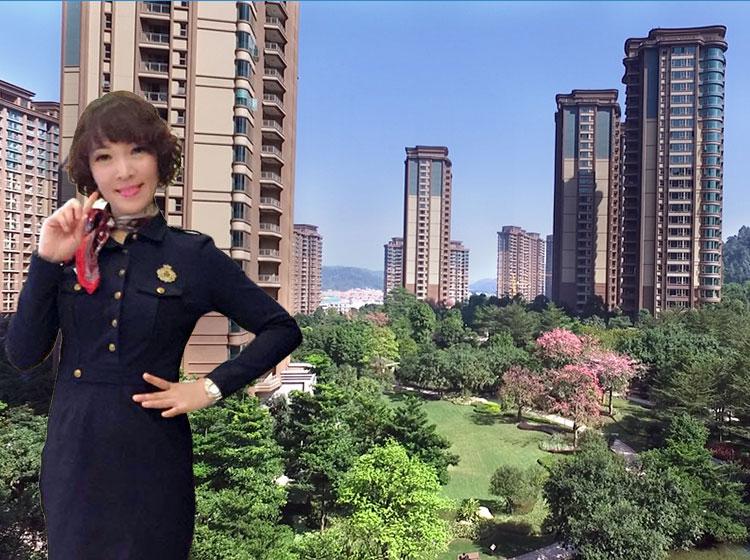 雅居乐富春山居一线山景五房,独步广州大平层